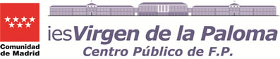 IES Virgen de la Paloma. Formación Profesional de calidad Logo